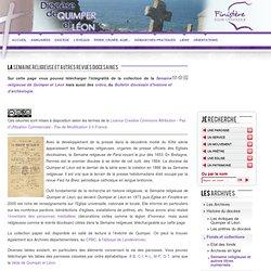 La Semaine religieuse et autres revues diocesaines
