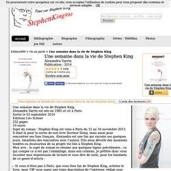 Pour aller plus loin: Une semaine dans la vie de Stephen King
