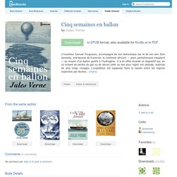 Cinq semaines en ballon - Jules Verne