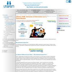 Semaines d'Information sur la Santé Mentale