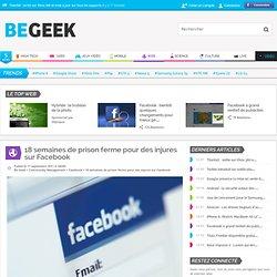 18 semaines de prison ferme pour des injures sur Facebook