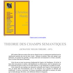 Semantic Field Theory