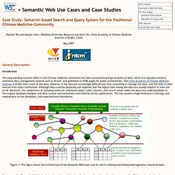 Semantic Case Study