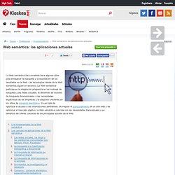 Web semántica: las aplicaciones actuales