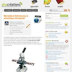 Microdata et Schema.org, la sémantique chirurgicale