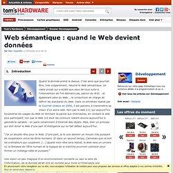 Web sémantique : quand le Web devient données : Introduction