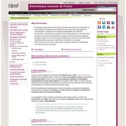 Web sémantique, Web de données : présentation