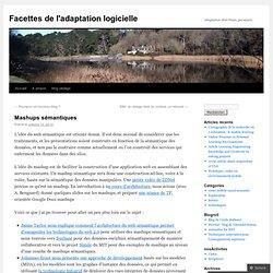 Facettes de l'adaptation logicielle