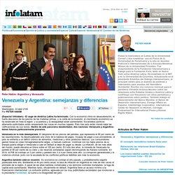 Venezuela y Argentina: semejanzas y diferencias - Infolatam
