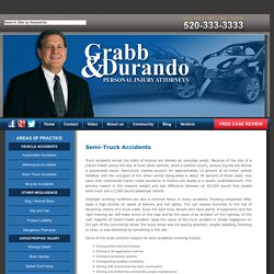 Semi Truck Accidents Lawyer