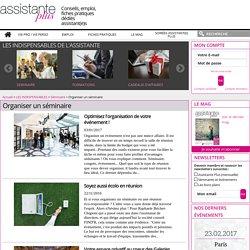 Séminaires : solutions, conseils, actualités