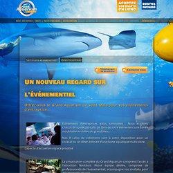 Séminaires et événements d'entreprise au grand aquarium de Saint Malo