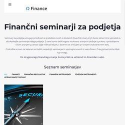 Seminarji za podjetja - Seminarji za podjetja