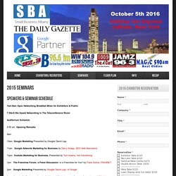 Small Business Albany 2016
