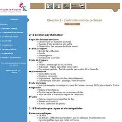 Sémiologie - Psychomotricité deuxième année