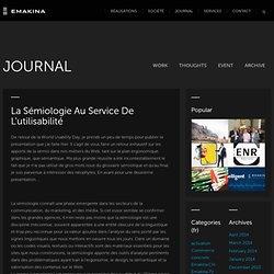 La sémiologie au service de l'utilisabilité « Le blog groupe Reflect
