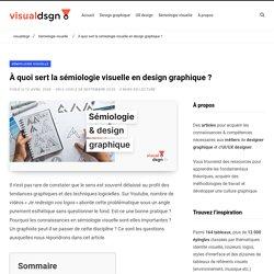 À quoi sert la sémiologie visuelle en design graphique ?