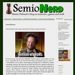SemioNerd: SemioMemes