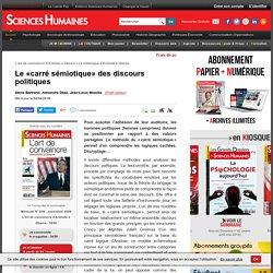 Le «carré sémiotique» des discours politiques - Denis Bertrand, Alexandre Dézé, Jean-Louis Missika, article Communication
