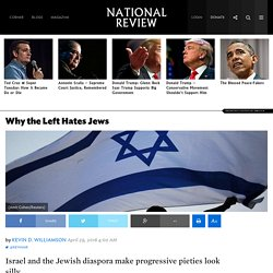 Leftist Anti-Semitism: It's Consistent with Their Worldview