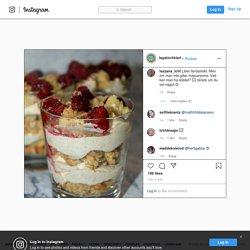 """LCHF Recept on Instagram: """"SEMMELCHEESECAKE Årets gluten- och sockerfria semmelnyhet, en semmelcheesecake i glas. Enklare och dessutom mycket godare än att göra…"""""""