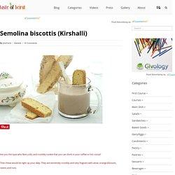 Taste of Beirut – Semolina biscottis (Kirshalli)