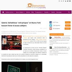 """Galería: Señaléticas """"anti-piropos"""" en Nueva York buscan frenar el acoso callejero"""
