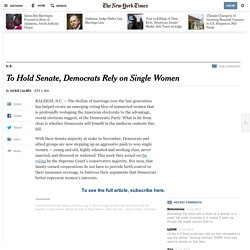All the single ladies 02/07/2014 - NYTimes.com