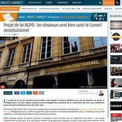 Projet de loi RGPD : les sénateurs vont bien saisir le Conseil constitutionnel