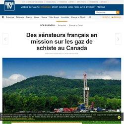 Des sénateurs français en mission sur les gaz de schiste au Canada