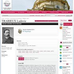 Ludovic Trarieux Sénateur 3ème République