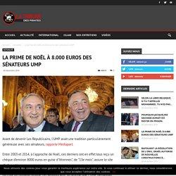 La prime de noël à 8.000 euros des sénateurs UMP