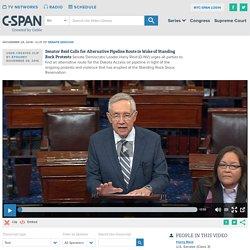 Sen. Reid Calls for Alternative Pipeline Route