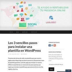 Los 3 sencillos pasos para instalar una plantilla en WordPress