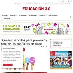 3 juegos sencillos para prevenir y reducir los conflictos en clase