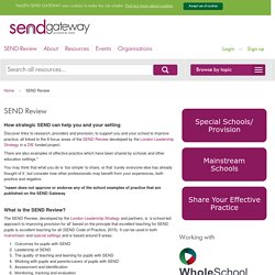 SEND Review