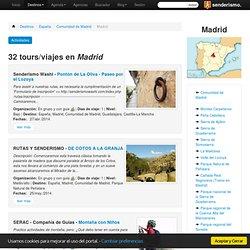 SENDERISMO Y TREKKING - Senderismo en Madrid - Excursiones y viajes, directorio de recursos, opiniones...