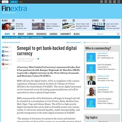 Senegal to get bank-backed digital currency