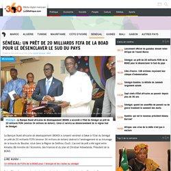 Sénégal: un prêt de 20 milliards FCFA de la BOAD pour le désenclaver le Sud du pays