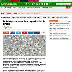 Le Sénégal se lance dans la production de zircon