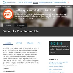 Sénégal - Vue d'ensemble