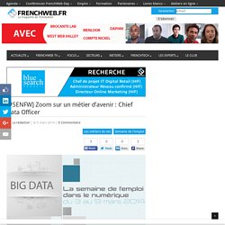 [#SENFW] Zoom sur un métier d'avenir : Chief Data Officer