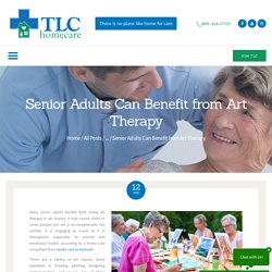 Senior Adults Can Benefit from Art Therapy