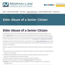 Hire Professional Elder Abuse Law Firn in Orange County
