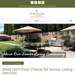 About Our West Hills Senior Living Community