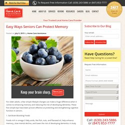 Senior Health: 5 Simple Things That Protect Memory