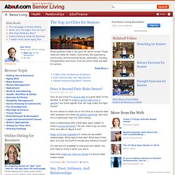 Senior Living - Older Adult Lifestyle Advice & Information