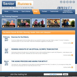 The Senior Running Blogs