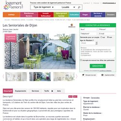 Les Senioriales de Dijon Résidence senior à Dijon (21)