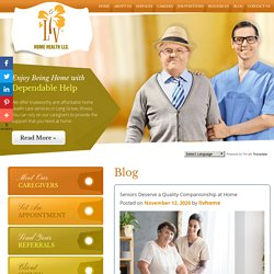 Seniors Deserve a Quality Companionship at Home